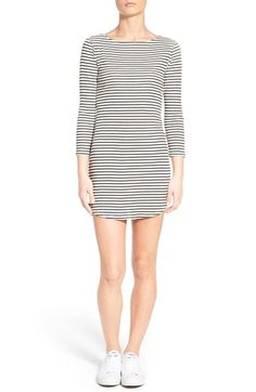 Stem Stripe T-Shirt Dress available at #Nordstrom