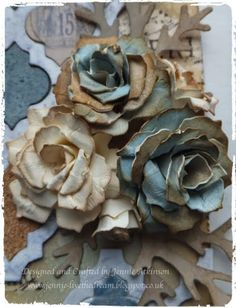 Live The Dream: Cabbage Rose Tutorial