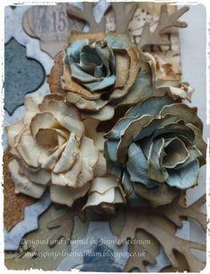 Live The Dream: Paper Rose Tutorial                                                                                                                                                                                 More
