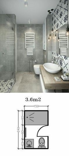 Popular love the pattern tile in the bathroom Top Search - Beautiful steps to tile a shower Photo