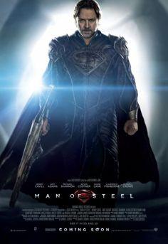 """Nuevo [PÓSTER] de """"Man of Steel"""" de Jor-El (Russell Crowe)"""