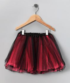 Take a look at this Black & Hot Pink Tutu by The Princess Pea on #zulily today!