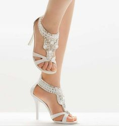 My Wedding Shoes Lulu Townsend Chic Wedge Pump In Silver