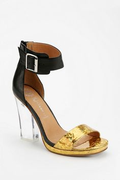 Jeffrey Campbell Soiree Clear Heeled Sandal