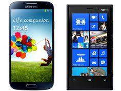Qual Smartphone escolher, Nokia Lumia 920 ou Galaxy S4?