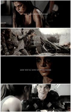 Octavia Blake and Bellamy Blake