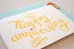 Anniversary Greeting Cards For Your Lover, Parents Or Partner