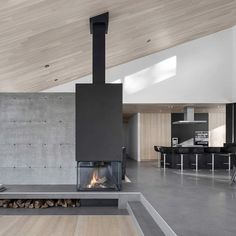Step inside the Vila Vingt home. Located in Canada, the ultra-modern home is crafted with white cedar ceilings, floor to ceiling windows which allows for views of the Laurentian hills. Swipe the images above and let us know if you'd move in. Photos: Adrien Williams / Bourgeois / Lechasseur Architects
