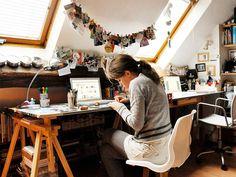 ::Aguas furtadas e um work office meu sonho Blogueira On Line