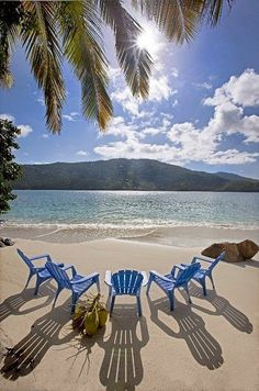 Pull up a chair! Magens Bay - St. Thomas Caribbean
