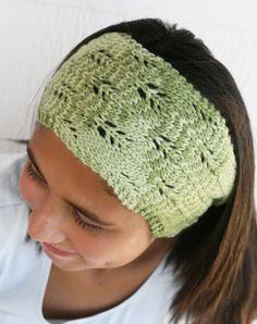 Trellis Headband on a Loom