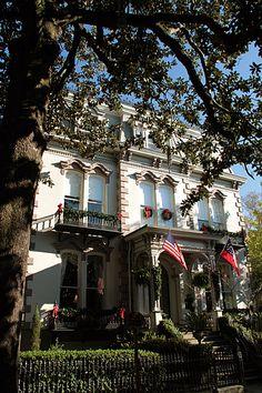 Hamilton Turner Inn, Savannah, Georgia.
