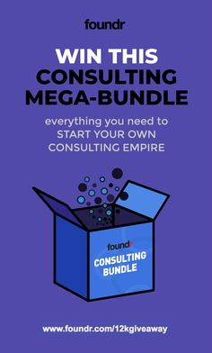 Win The Ultimate Consulting Bundle ($12,000 VALUE)
