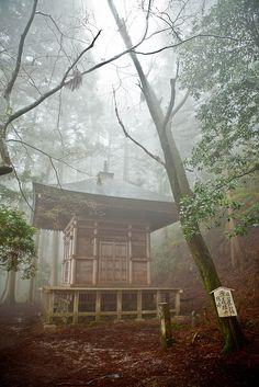 Kinpu Shrine, Yoshino, Nara, Japan 金峯神社 奈良