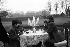 Tea time with The Beatles