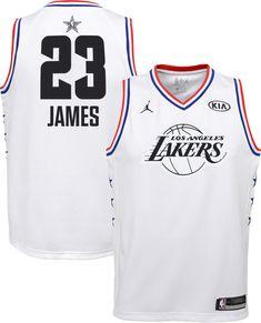 Jordan Youth 2019 NBA All-Star Game LeBron James White Dri-FIT Swingman  Jersey 08e365a6c
