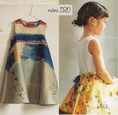 nani IRO fuccra skirt Cute Outfits For Kids, Cute Kids, Sewing Ideas, Sewing Projects, Echino, Little Ones, Summer Dresses, Children, Skirts
