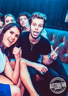 Luke at the Australian Brewery Coolroom on April 16, 2015 [x]