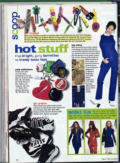 Seventeen Magazine, August 1996