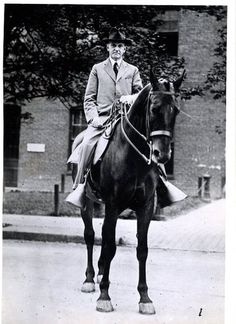 1923 Vintage Photo President Calvin Coolidge on a horse | eBay