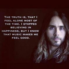 <3 With Jared and music too, who needs anything else? <3