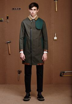 Band of Outsiders Fall/Winter 2015 Menswear Collection Inspired by The Great American Hardware Store Fashion Show, Mens Fashion, Fashion Trends, Fashion Shirts, Band Of Outsiders, Fashion Details, Fashion Design, Mens Fall, Fall Winter 2015