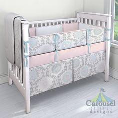 My Carousel Designs Custom Baby Bedding #carouseldesigns