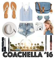 """""""Hot Coachella Style"""" by ashstylist101 ❤ liked on Polyvore featuring MANGO, One Teaspoon, Aéropostale, MICHAEL Michael Kors, Calypso Private Label, Cutler and Gross, Shiseido, Trish McEvoy, Express and Urban Outfitters"""