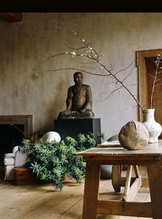Wabi-Sabi. Simplicity and  beauty in natural elements.
