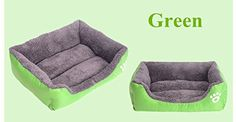 Green Pet Dog Cat Bed Puppy Cushion House Pet Soft Warm Kennel Dog Mat Blanket - Small * Tried it! Love it! Click the image. : Pet dog bedding