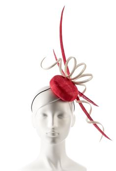 Cherry Slice   BY MARISA GROOM #millinery #hats #HatAcademy