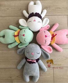 @babasinin_nazlikizi Ich liebe dein Bild von Mia #hasemia !!! ° ° ° Pattern/Anleitung 👉 in my etsy shop ° ° ° #amaloudesigns #pattern #anleitung #amigurumi #crochet #kawaii #etsyshop #etsystore #etsyseller