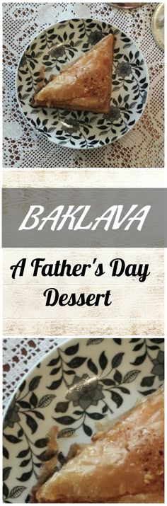 Baklava is one of my favorite desserts. So, for my most favorite person in the world, this is the dessert I am going to make! Most Favorite, Favorite Person, Greek Baklava, Greek Pastries, Baklava Recipe, Greek Desserts, Bread Puddings, Scones, Fathers Day