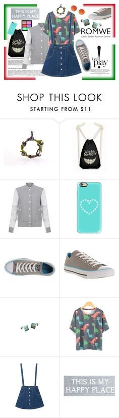 """""""Sweet sixteen.."""" by giampourasjewel ❤ liked on Polyvore featuring MAC Cosmetics, Elizabeth and James, Casetify, Converse, WithChic and Pier 1 Imports"""