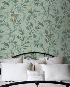 The Little Greene Paint Company Great Ormond St wallpaper, taken from the The Little Greene Paint Company London Wallpapers collection.