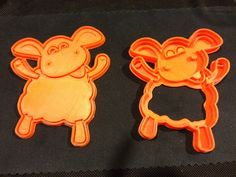 Timmy Time Sheep Cookie Cutter by idea_beans - Thingiverse