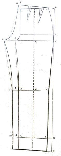Jika pada posting sebelumnya kita sudah tahu tentang bagaimana membuat pola celana pantalon untuk pria, berikut akan disajikan pola pantal...