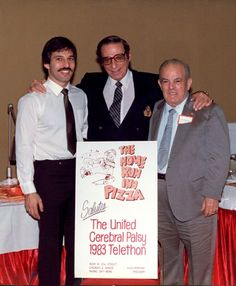Home Run Inn salutes the United Cerebral Palsy telethon – with Irv Kupcinet1983
