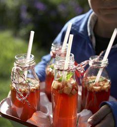 Apfelbowle: Sieht schön aus und schmeckt herrlich frisch! Und das ganz ohne Alkohol.