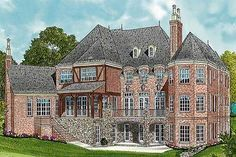 The town founders mansion Elderly couple founders Son married with 3 children --teenage daughter boy son baby Single daughter Luxury House Plans, Dream House Plans, House Floor Plans, 10 Bedroom House, I Love House, Mountain House Plans, Studio Room, Bedroom Floor Plans, European House