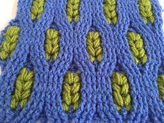 Crochet pattern  - Wheat Crochet Stitch - Cable pattern