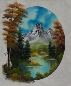 bob ross early autumn painting & bob ross early autumn paintings for sale. Shop for bob ross early autumn paintings & bob ross early autumn painting artwork at discount inc oil paintings, posters, canvas prints, more art on Sale oil painting gallery. Wet On Wet Painting, The Joy Of Painting, Autumn Painting, Bob Ross Paintings, Paintings For Sale, Landscape Art, Landscape Paintings, Bob Ross Art, Pictures To Paint