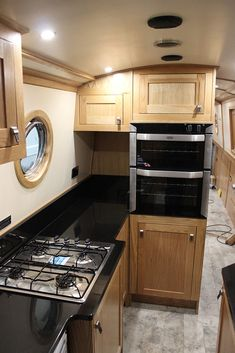 22 Ideas yatch boats dreams for 2019 Narrowboat Kitchen, Narrowboat Interiors, Barge Boat, Canal Barge, Barge Interior, Yacht Interior, Interior Ideas, Living On A Boat, Small Living