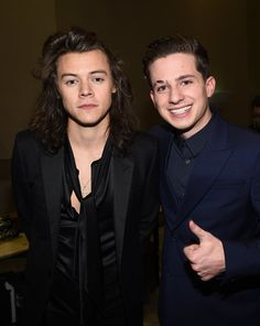 Pin for Later: The Number of Bromances That Blossomed at the Billboard Music Awards Is Hilarious Harry Styles and Charlie Puth