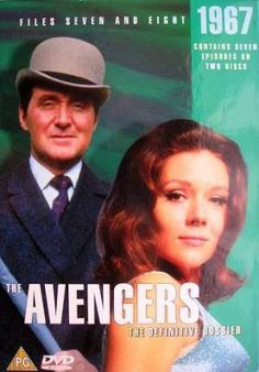 The Avengers (TV Series) Film Stills, Official Movie Posters, Pictures, Wallpapers, Behind the scenes & Emma Peel, The Avengers, Patrick Macnee, Mejores Series Tv, Vintage Television, Old Shows, Great Tv Shows, Vintage Tv, My Childhood Memories