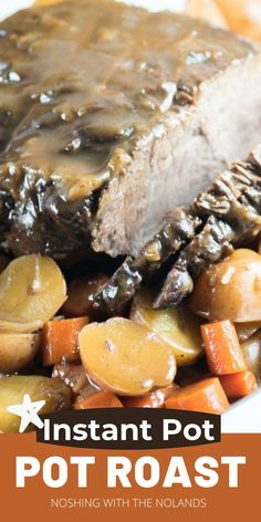Pressure Cooker Pot Roast, Pressure Cooker Recipes, Easy Snacks, Easy Meals, Full Course Dinner, Beef Pot Roast, Make Ahead Lunches, Incredible Recipes, Healthy Vegetables
