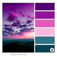 Color palette Color Inspiration Palettes of life. Love of color. Hues of feelings. Colors are everyw Purple Color Schemes, Color Schemes Colour Palettes, Colour Pallette, Color Palate, Color Combos, Purple Palette, Purple Colors, Color Swatches, Color Theory