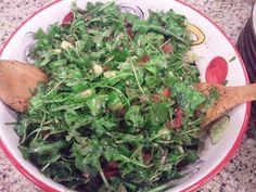 Savvy Chef: Arugula Salad (Salatet Jarjeer/ Wild Rocket)