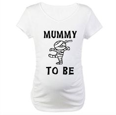 Mummy To Be Pregnancy Shirt. Halloween Pregnancy Shirt, Pregnancy Costumes, Pregnant Halloween, Pregnancy Announcement Shirt, Pregnancy Shirts, Maternity Shirts, Momma Shirts, Heat Press Vinyl, Fall Maternity