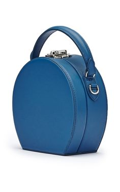 This   Bertoni 1949   mini hatbox bag is rendered in French calf leather b1d505f2232